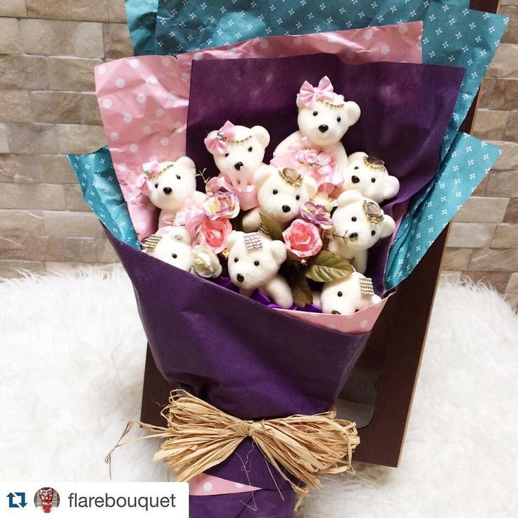 Valentine's Gift for your loved ones ! DOLL HAND BOUQUET  Perfect for Valentine Gift Surprise Birthday Anniversary and any Occasion   For any inquiries please kindly text us thru  Line : @flarebags Line : reinyjereno Whatsapp : 6281343666660  #gift #flower #handbouquet #bouquet #bunga #bungatangan #kado #bingkisan #hadiah #happybirthday #birthdaygift #hadiahultah #ultah #kadoultah #hadiahcantik #hadiahunik #cute #dollhandbouquet #teddybearbouquet #anniversary #anniversarygift #surprise…