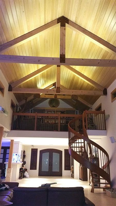 35 Best Images About Led Strip Lighting Ideas On Pinterest: Best 25+ Vaulted Ceiling Lighting Ideas On Pinterest