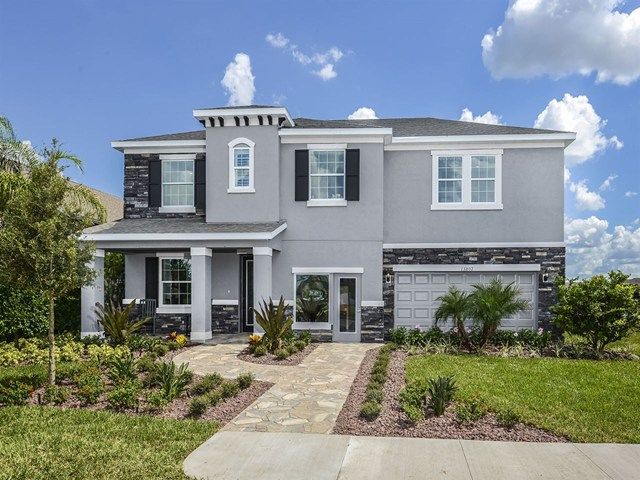 Siesta Plan at South Fork in Riverview, Florida by Ryland Homes