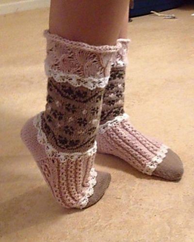 Ett par söta romantiska sockor