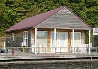 rent a floating cabin in Kentucky on Green River Lake