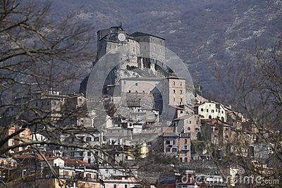 Built in the late 11th century, the Rocca Abbaziale also called the Rocca dei Borgia is an abbey, designed as a castle, in Subiaco, Lazio, Italy and important touristic attraction