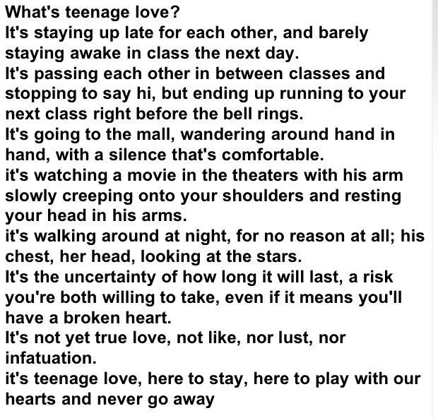Cute teen sayings to boyfriend