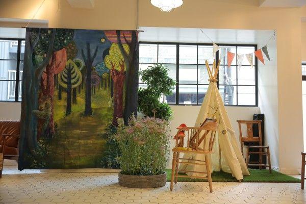 「夜の森のピクニック」ウエディングパーティー@BEARS TABLE(浅草)  ウエディングプロデュース「Happy Very Much」http://happyverymuch.jp  #forestwedding #bearstable #photobooth #bearstable #happyverymuch #naturalwedding