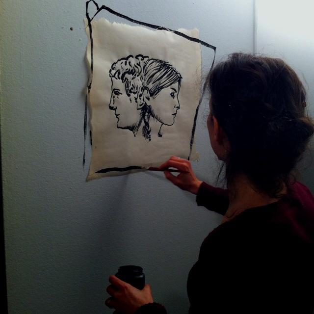 mio profilo destro by Marina Bertagnin