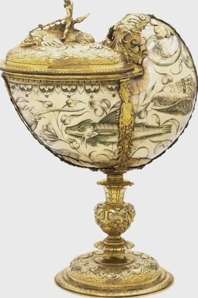 The Frewen Cup England (possibly, engraved) Netherlands (possibly, engraved) York (city) (repaired) Date:1645 - 1654 Artist/Maker:Plummer, John (goldsmith)