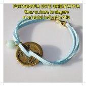 [K] Bratara-amuleta cu BANUT CHINEZESC si TURCOAZ