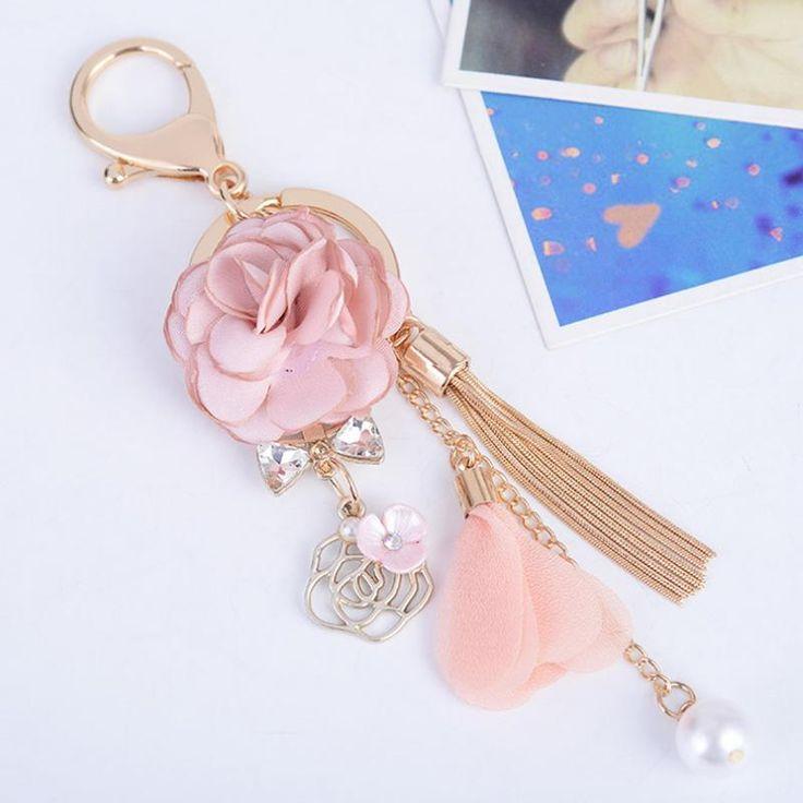 Rose Bag Charm