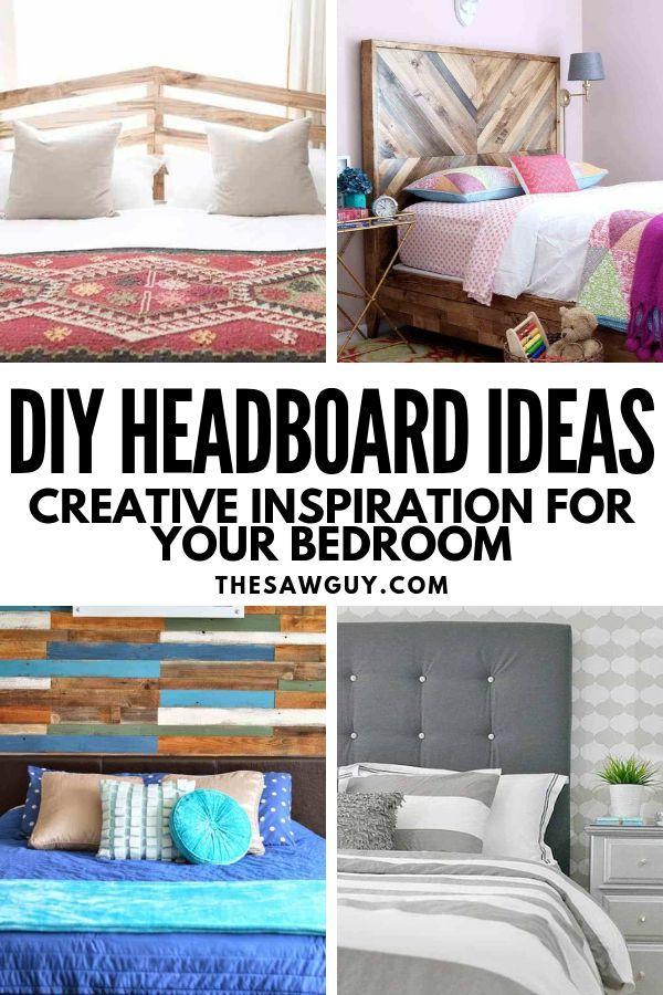 23 Diy Headboard Ideas Creative Inspiration For Your Bedroom Diy Headboard Bedroom Diy Home Diy