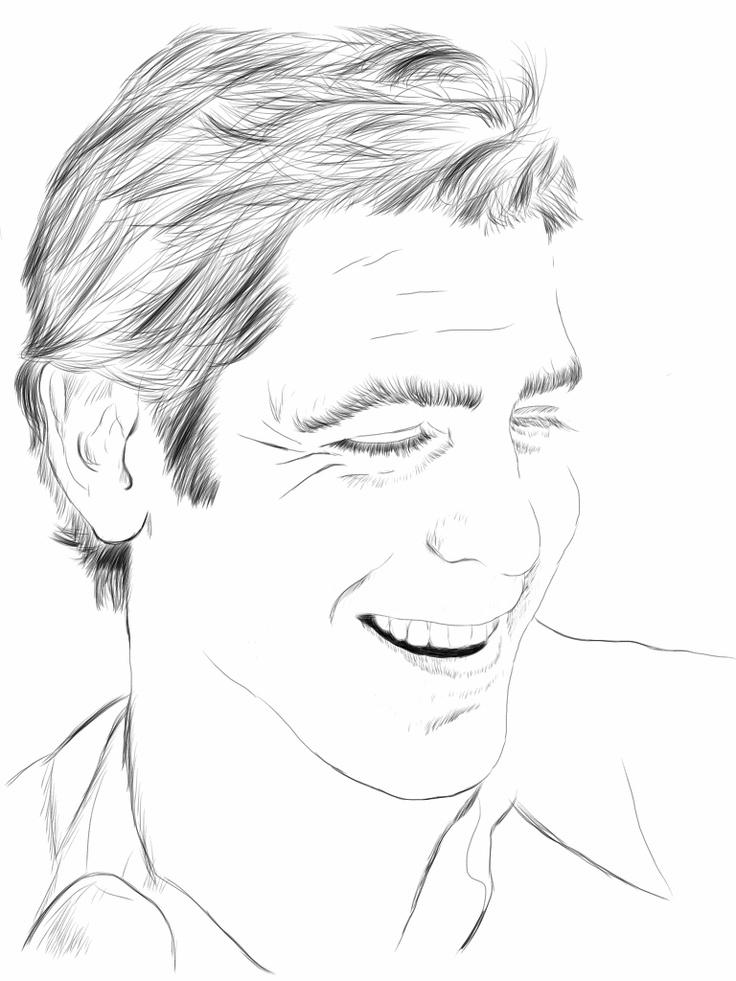 George Clooney, I like him. so handsome ^^....
