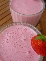 2 aardbeien milkshake light
