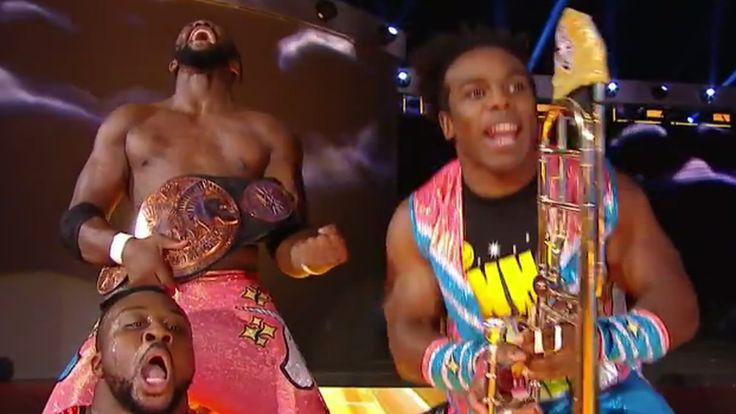 WWE Clash of Champions 2016 results: New Day's reign continues  Clash of Champions opened with YOUR WWE Tag Team champions. The New Day discussed the length of their reign, and winked at the feeling among some fans it was past time for Xavier Woods, Big E & Kofi Kingston to drop the belts. #ClashofChampions http://rock.ly/8w2lh