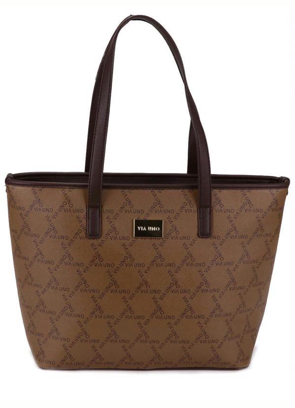 711dd972b Bolsa Shopping Bag Via Uno Marrom em 2019 | Products | Fashion, Tote Bag e  Clothes