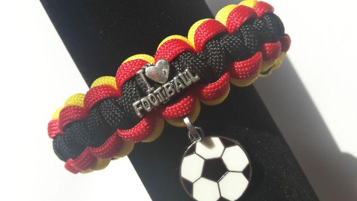 EM Armband Fan Fußball Deutschland-Farben UNISEX  Farb -Wunsch Wunsch -Mass