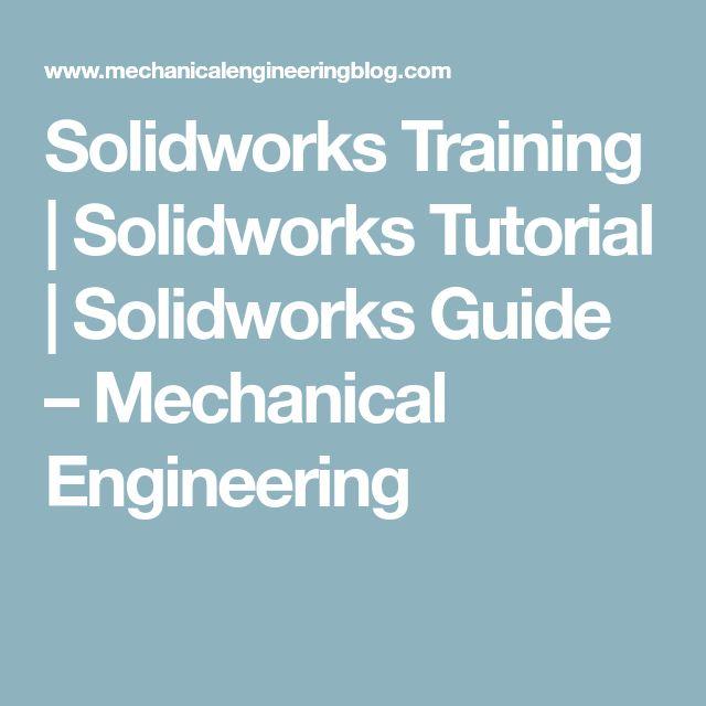 9 best solidworks images on Pinterest Solidworks tutorial, 3d - best of mechanical blueprint definition