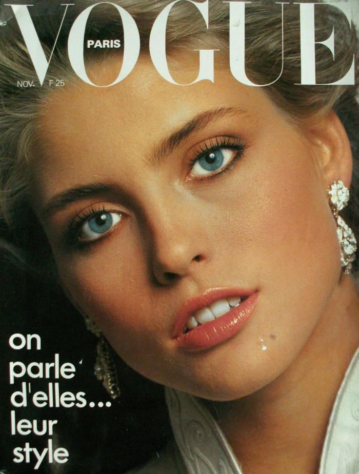 Kim Alexis by Arthur Elgort Vogue Paris November 1980