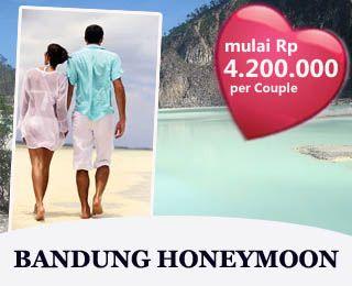 Bandung Honeymoon starting from Rp 4.200.000 per couple.