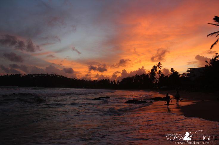 Colours of Mirissa beach
