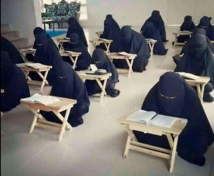 ما ضر الزهور !  و ما عليها !  إذا المزكومُ لم   ISLAM IS ANTI-FEMINIST  ينشق شذاها ما شاء الله