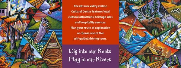 """The Ottawa Valley Tourist Association's """"Roots and Rivers"""" online guide is a great resource if you are planning a driving tour this fall!"""