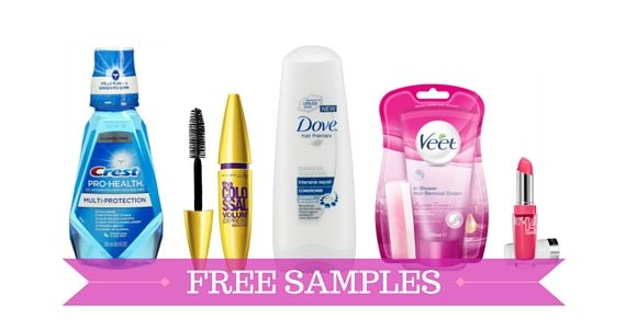 Register Today for Free Samples