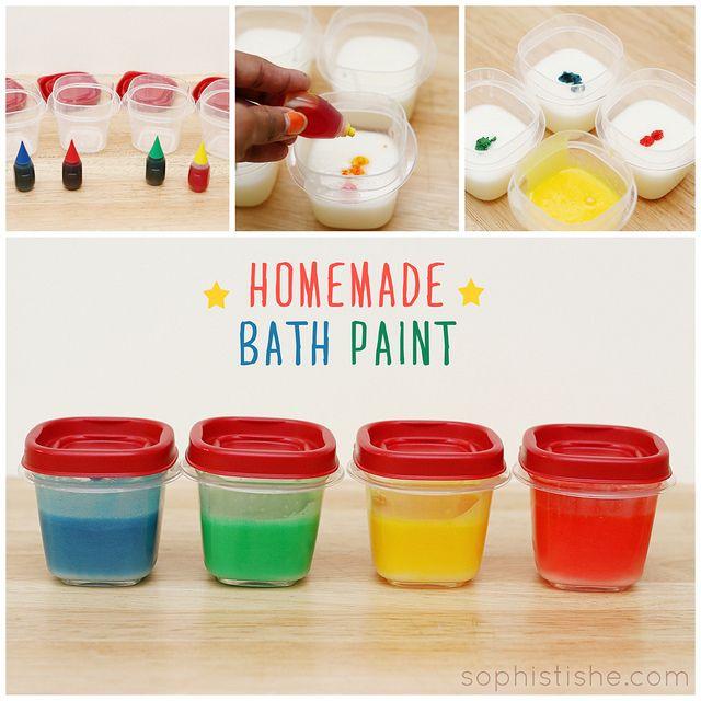 Homemade Bath Paint · Arts & Crafts, Kids