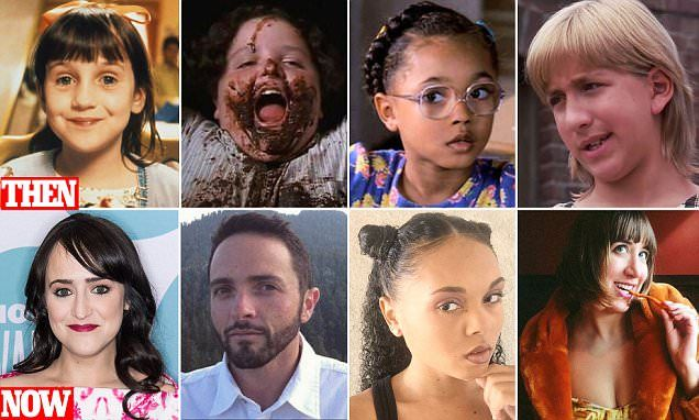 Matilda child stars look completely unrecognizable 20 years on