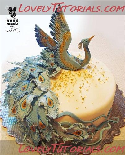 344 Best Images About Peacock Cake On Pinterest
