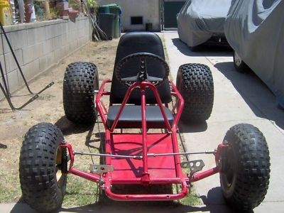 MANCO GO KART GO CART ROLLING CHASSIS FRAME ON/OFF ROAD (07/02/2011)