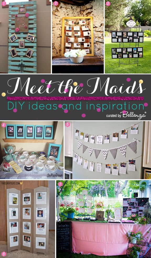 Meet The Maids Diy Display Ideas And Inspiration Bachelorette