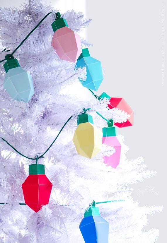 Make Your Own Christmas Lights Kit Christmas Diy Kit Etsy Christmas Diy Kit Christmas Lights Christmas Diy