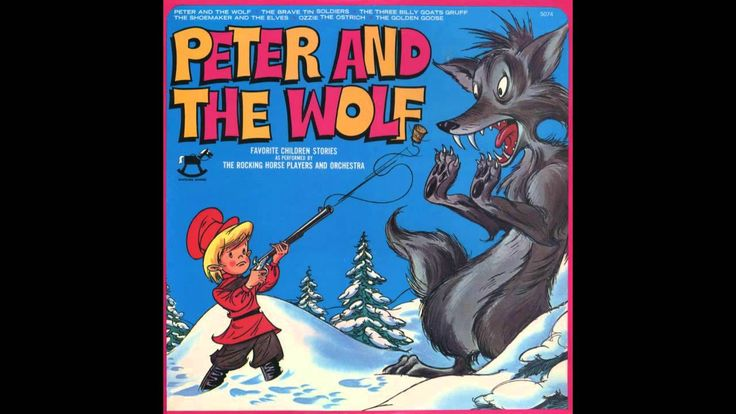 Victor Jory - Peter and the Wolf (Peter Pan records)