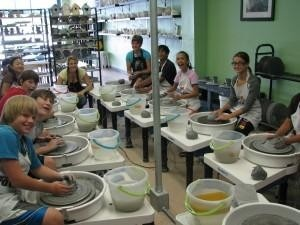 Kids Pottery Wheel: Creat specific forms such as cups. Austin, TX #Kids #Events