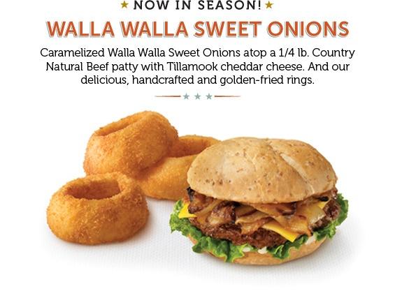 Walla Walla Burger And Onion Rings Burgerville Vancouver Wa Food Tillamook Cheddar Burger
