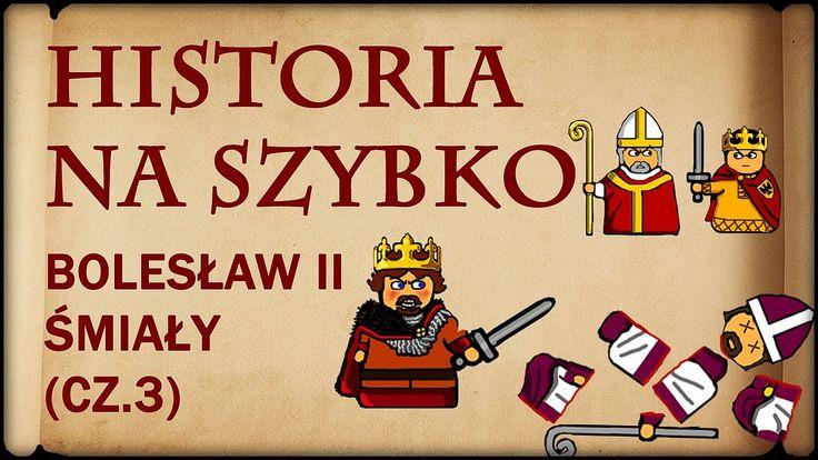 Historia Na Szybko - Bolesław II Śmiały cz.3 (Historia Polski #13) (1075...