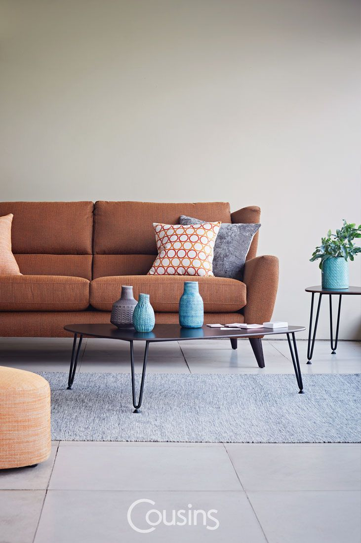Taking inspiration from the 50'€™s, Florence combines retro styling with the modern-day comfort of high back cushions and built-in lumbar support. Foam with fibre wrap seat cushions.
