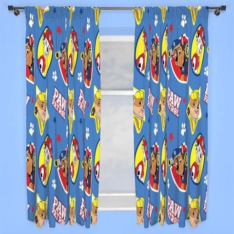 Paw Patrol 'Pawsome-Character Curtains