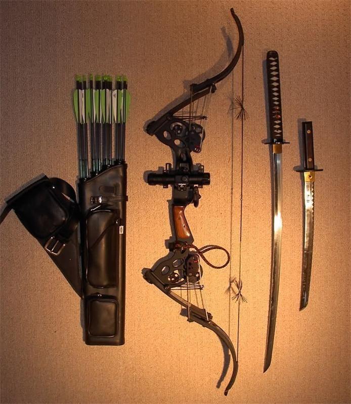 Набор для выживания в случае зомби апокалипсиса.