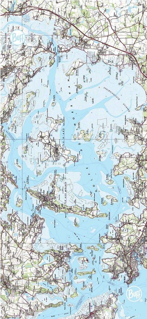 map golfe du morbihan