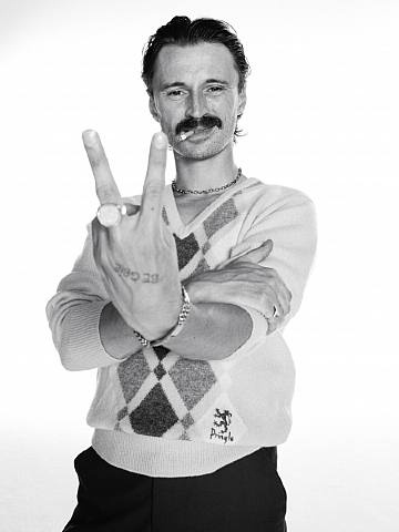 Begbie from the movie Trainspotting photography by Lorenzo Agius