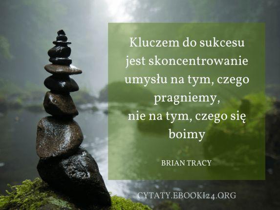 Brian Tracy cytat o sukcesie