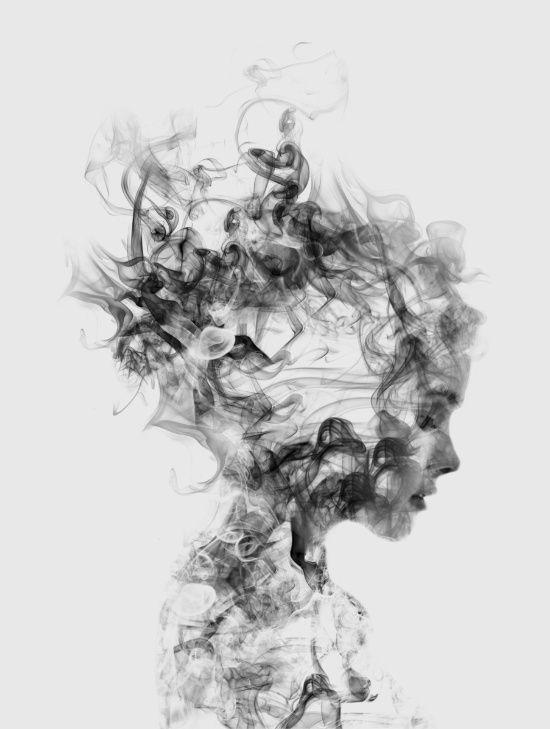Dissolve Me Art Print, monochrome art print, black & white wall art, contemporary wall art, scandinavian wall art, minimalist wall art, modern wall art