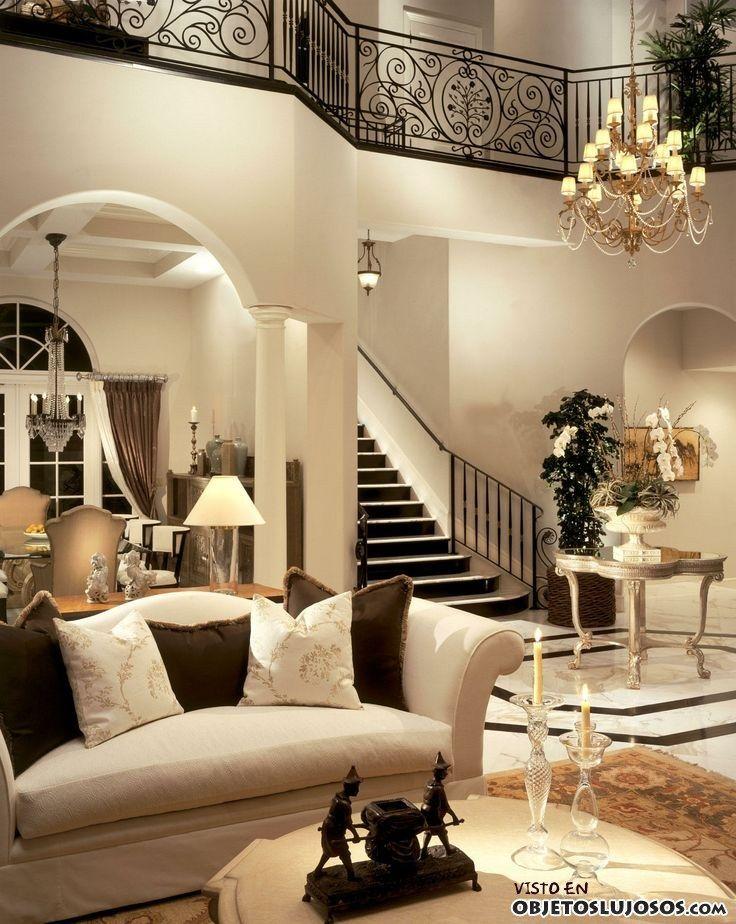 Las 25 mejores ideas sobre mansiones de lujo en pinterest - Escaleras de casas de lujo ...
