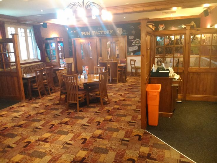 Inside Brewers' Fayre at Birmingham Great Park, Rubery.