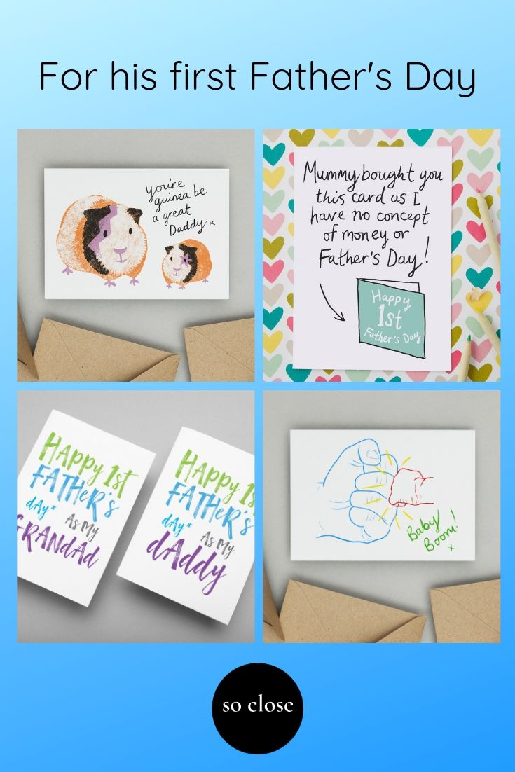The Cutest Cards For A New Dad On His First Father S Day The