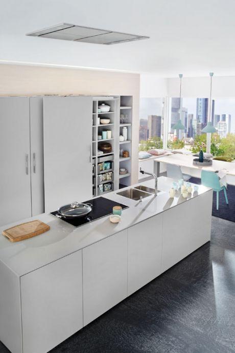Grey shades, Küche, interior, Design, ballerinaküchen, Grautöne, Wohnen