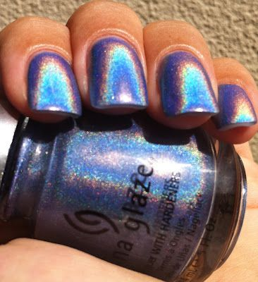 China Glaze 2Nite... This looks like the outside of the Taylor swift wonderstruck perfume