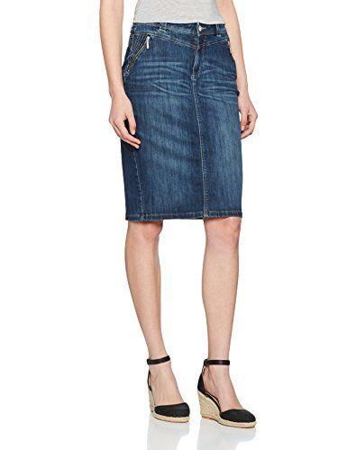 bf3396b8c35529 Bonita Jeans Uni Jupe Femme Bleu (Denim 1052) 46   Jupes femme ...