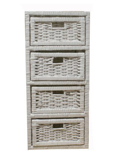 Woodluv 4 Drawer White Wicker Storage Tower Unit Home Bathroom Bedroom Woodluv http://www.amazon.co.uk/dp/B00AKWIRTY/ref=cm_sw_r_pi_dp_IEO0tb16BSQB8C16