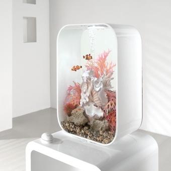 Een prachtig design aquarium haalt u in huis met dit exemplaar. http://www.tuinexpress.nl/biorb-life-aquarium-60-liter-mcr-wit